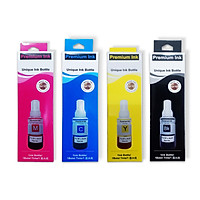 (Bộ 4 màu) Mực nước máy in Epson T664 L300 / L310 / L350 / L360 / L1300 / L100 / L120 / L200 / L210 / L565 ... - HÀNG NHẬP KHẨU