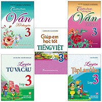 Sách: Combo 5 Cuốn Học Tiếng Việt Toàn Diện Cho Học Sinh Lớp 3