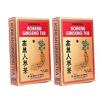 Combo 02 hộp trà sâm gingseng Hàn Quốc (hộp 100 gói)