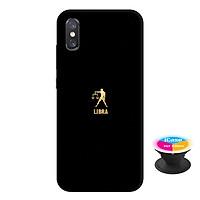 Ốp lưng nhựa dẻo dành cho Xiaomi Mi 8 Pro in hình Lybra - Tặng Popsocket in logo iCase - Hàng Chính Hãng