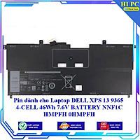 Pin dành cho Laptop DELL XPS 13 9365 4 CELL 46Wh 7.6V BATTERY NNF1C HMPFH 0HMPFH - Hàng Nhập Khẩu