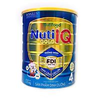 Sữa Nuti IQ Gold 4 1.5kg (mới) - Phát triển não bộ và thị giác, Tăng cường sức đề kháng, Phát triển cân nặng - chiều cao, Tiêu hoá - hấp thu tốt, Ngăn ngừa táo bón