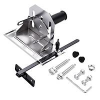 Adjustable Multifunction Angle Grinder Stand Angle Cutting Bracket with Adjustable Base Plate Cover Grinder Bracket