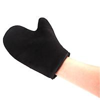 Self Tanning Mitt Self Tanning Glove Fashion Black Velvet Beauty Sunless
