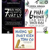 Bộ Sách Cực Hay Về Khoa Học Tự Nhiên ( 7 Bài Học Hay Nhất Về Vật Lý + 6 Phát Minh Làm Nên Thời Đại + Những Phát Kiến Tình Cờ ) Tặng BookMark Romantic