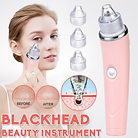 Beauty Instrucment Electric Blackhead Vacuum Acne Remover Pore Dermabrasion Cleaner