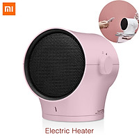 Xiaomi Ecological Chain Mini Electric Heater Mute Warmer Desktop Household Warmer Fan Cool Warm Wind Two Modes 3 Gears Adjustable Saving Warmer 60° Angle Adjustment Air Heater For Office