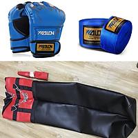Bộ vỏ bao tập đấm bốc boxing, mma + găng đấm bốc mma + băng đa boxing mma - Thiết bị tập đấm bốc chuyên nghiệp, bền bỉ và đa năng