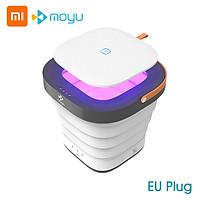 Moyu Folding Wash Machine XPB08-F1 Mini Portable Laundry Machine Washing Machine Gift For Home Travel 100-240V