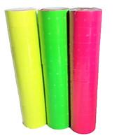 Lốc 10 cuộn giấy bấm giá màu ( giao màu ngẫu nhiên)