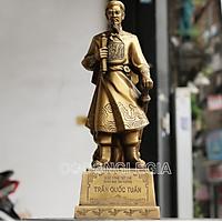 Tượng Trần Hưng Cao 38cm Đạo Bằng Đồng Phong Thủy Lê Gia