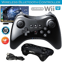 Wireless Classic Pro Controller Joystick Gamepad for Nintend wii U Pro with USB Cable