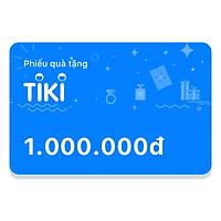 Phiếu Quà Tặng Tiki 1.000.000đ