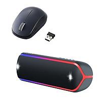 Combo Loa Bluetooth Sony SRS-XB32 & Chuột không dây BlueLED ELECOM M-DY12DB - Hàng chính hãng