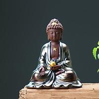 Tượng Phật Gốm A Di Đà Xá Lợi