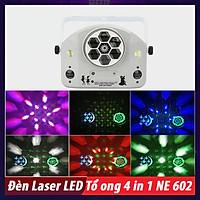 Đèn Laser LED Cá Lướt Sóng 4 in 1 NE 603