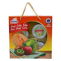Hộp Quà Trái Cây Sấy Dẻo Thập Cẩm Thaifruitz: Dưa...
