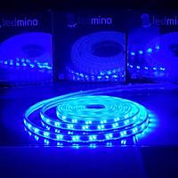 Cuộn 5m LED dây trang trí 3014 1 hàng bóng 220V   Trang trí cửa hàng, tủ sách, hắt trần, ngoài trời