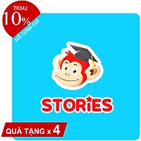 Evoucher - Monkey Stories (Trọn đời, 1 năm) - Phần mềm 4 kỹ năng tiếng Anh