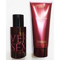 Combo xịt thơm mini 75ml & dưỡng thể Victoria's Secret Very Sexy 100ml