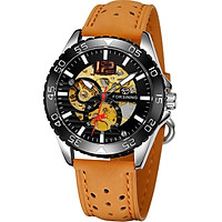 FORSINING 337 MeConnical Movement Men Watch 3ATM Waterproof Luxury Business Luminous Male Watch Skeleton Wristwatch for