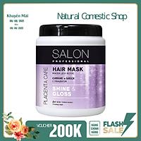 Kem ủ Salon Professional shine & gloss giúp cung cấp độ ẩm, mềm mượt tóc 1000ml