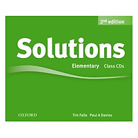 Solutions (2E) Elementary Class Audio CDs (3 Discs)