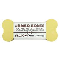 Bộ 3 Gôm Stacom Jumbo Bones Lớn ER106 - Màu Vàng