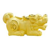 Tỳ Hưu Trấn Tài phủ vàng 24K quà tặng mỹ nghệ KBP DOJI DJDEJ37