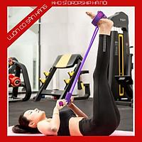 Dây Kéo Đàn Hồi 4 Ống Cao Su Tập Thể Dục, tập Gym Tại Nhà Tập Toàn Thân Nâng Cao Sức Khỏe