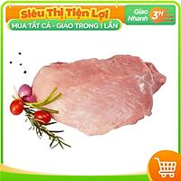 [Chỉ giao HCM] - Nạc đùi Heo cắt Đông lạnh NKP (1kg) - được bán bởi TikiNGON - Giao nhanh 3H