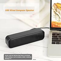 Loa Để Bàn Máy Tính USB Powered Soundbar Có Dây Cho TV Máy Tính Để Bàn Máy Tính Xách Tay
