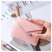 Ví nữ mini nhiều ngăn cầm tay thời trang cao cấp nhỏ gọn dễ thương giá rẻ  VD1