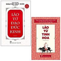 Combo Lão Tử Tinh Hoa và Lão Tử Đạo Đức Kinh ( Tái bản)