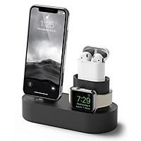 Đế sạc Elago 3 in 1 cho Apple Watch, Airpods và iPhone - Hàng Chính Hãng