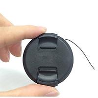 Nắp lens dùng cho ống kính Sony size 40.5mm /49mm /52mm /55mm /62mm /67mm /72mm /77mm  - Hàng nhập khẩu