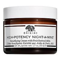 Kem Dưỡng Origins High-Potency Night-A-Mins Resurfacing Cream With Fruit-Derived Ahas 50Ml