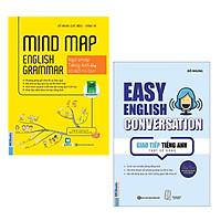Combo Cẩm Nang Học Tiếng Anh: Mindmap English Grammar - Ngữ Pháp Tiếng Anh Bằng Sơ Đồ Tư Duy + Giao Tiếp Tiếng Anh Thật Dễ Dàng - Easy English Conversation (Tái Bản 2020)