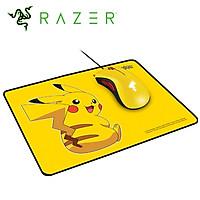 Combo Chuột Razer DeathAdder Essential và Lót Chuột Goliathus Speed Pokemon - Pikachu (Phiên Bản Giới Hạn)