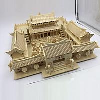 Đồ chơi lắp ráp gỗ 3D Mô hình Thiếu Lâm Tự