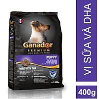 Thức ăn cho chó con Ganador vị Sữa và DHA - Puppy Milk with DHA 400gr