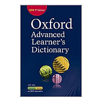 Oxford Advanced Learner's Dictionary, 9th Edition - Paperback with DVD-ROM
