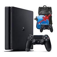 Máy Playstation PS4 Slim 1TB CUH-2218B + Combo quà tặng: Tay bấm game, Balo & Nón bảo hiểm PS4 - Hàng chính hãng