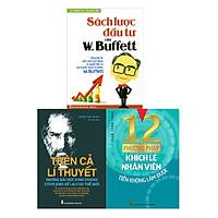 Combo 12 Phương Pháp Khích Lệ Nhân Viên + Trên Cả Lí Thuyết + Sách Lược Đầu Tư Của W. Buffett