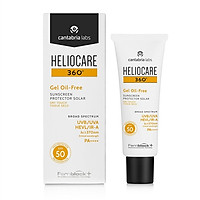 Kem Chống Nắng Heliocare 360 Gel Oil-Free spf 50- 50ml (Package mới)