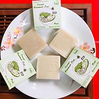 Xà phòng handmade Adeva Naturals - Xà bông Trái nhàu Noni (3 bánh - 100 gr/ 1 bánh)