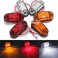 12V Side Marker LED Light For Caravan Truck Trailer  (White)