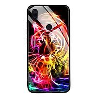 Ốp lưng kính cường lực cho điện thoại Xiaomi Redmi Note 7 - 0262 TIGER02 - Hàng Chính Hãng