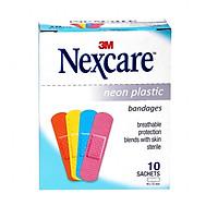 Băng keo cá nhân neon Nexcare Neon Plastic (10 gói/hộp)