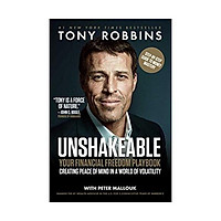 Sách - Unshakeable: Your Guide to Financial Freedom by Tony Robbins - (US Edition, paperback)